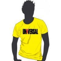 Футболка Universal - желтая