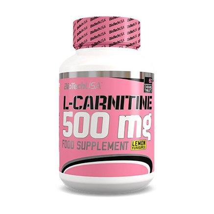 BioTech L-Carnitine 500 мг, 60 таблеток