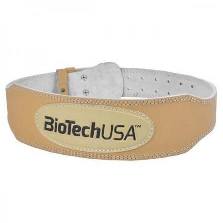 Biotech атлетический пояс бежевый