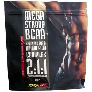 Power Pro Mega Strong BCAA, 300 грамм