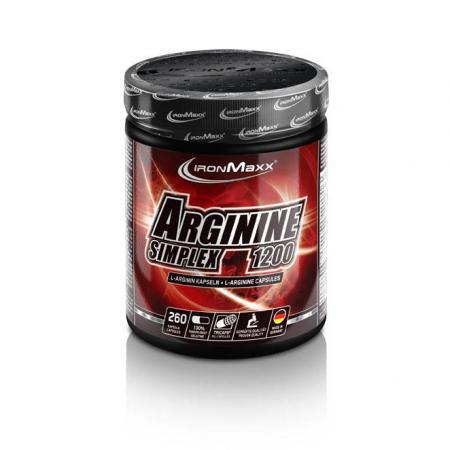 Ironmaxx Arginin Simplex, 260 капсул