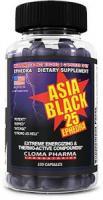 Cloma Pharma Asia Black, 100 капс