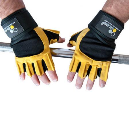Перчатки мужские Olimp Hardcore Raptor - желтые