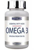 Scitec Nutrition Omega 3, 100 капс