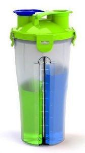 Optimum Dual Shaker (двухсекционный), 800 мл