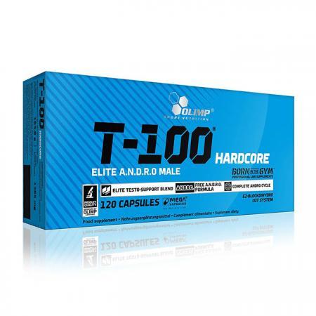 Olimp T-100 Hardcore, 120 капсул