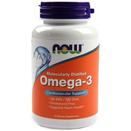 NOW Omega-3, 100 капс