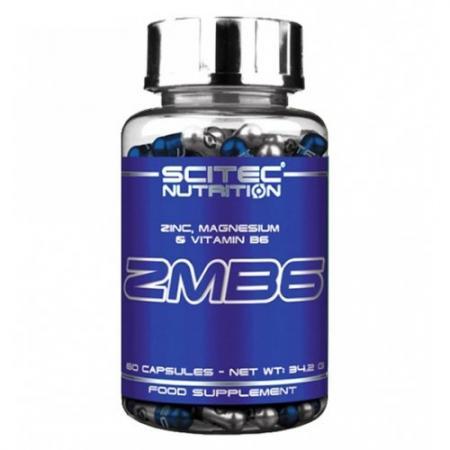 Scitec ZMB6, 60 капсул