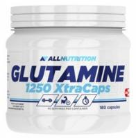 AllNutrition Glutamine 1250 Xtra Caps, 180 капс