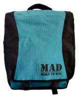 Сумка-рюкзак женская MAD PACE - голубая