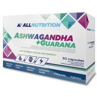 AllNutrition Ashwagandha + Guarana, 30 капсул