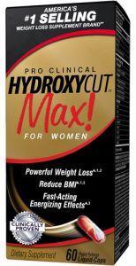 Muscletech Hydroxycut MAX Pro Clinical, 60 капсул